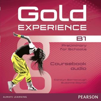 Gold Experience B1 Class Audio CDs (Лицензия)