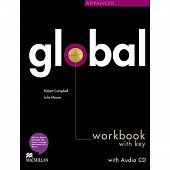Global Advanced Workbook + CD with Key