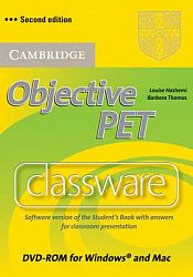 Objective PET 2nd Edition Classware DVD-ROM with answers