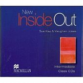 New Inside Out Intermediate Class Audio CDs (Лицензия)