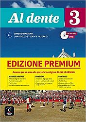 Al dente 3 Premium Libro dello studente + Esercizi + CD audio + DVD su Blink
