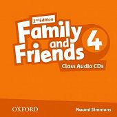 Family and Friends Second Edition 4 Class Audio CD's (2)