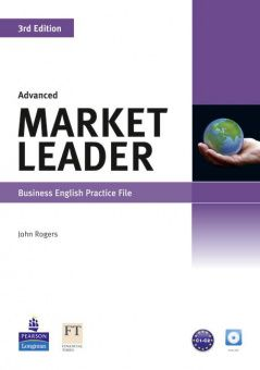 Market Leader 3rd Edition Advanced Practice File and Practice File CD Pack
