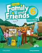 Family and Friends Second Edition 6 Class Book and multiROM Pack