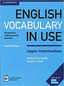 English Vocabulary in Use: Upper-intermediate (4th Edition) Book with answers and Enhanced eBook