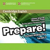 Cambridge English Prepare! Level 7 Class Audio CDs (3) (Лицензия)
