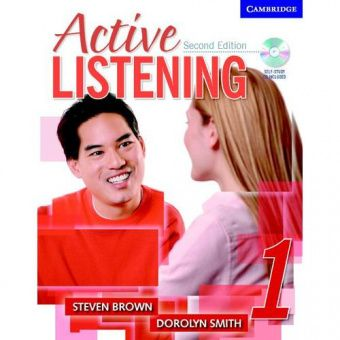 Active Listening 2nd Edition Level 1 Student's Book with Self-study Audio CD