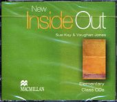 New Inside Out Elementary Class Audio CDs (Лицензия)