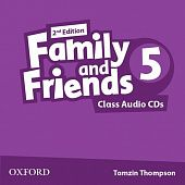 Family and Friends Second Edition 5 Class Audio CD's (2)