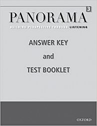 Panorama Listening 3: Answer Key and Test Booklet