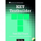 KET Testbuilder: Student's Book with key + Audio CD Pack