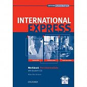 International Express, Interactive Editions Pre-Intermediate Workbook + Student's CD