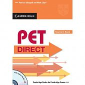 PET Direct Teacher's Book with Class Audio CD
