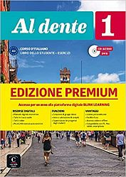 Al dente 1 Premium Libro dello studente + Esercizi + CD audio + DVD su Blink
