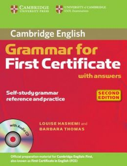 Cambridge Grammar for First Certificate (Second Edition) Book with answers and Audio CD