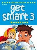 Get Smart British Edition 3 Full-colour Workbook + Audio CD/CD-ROM