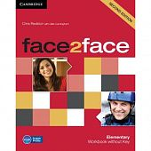 face2face (Second Edition) Elementary Workbook without Key