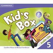 Kid's Box Level 5 Class Audio CD (3) (Лицензия)