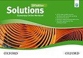 Solutions Second Edition Elementary Online Workbook - Card with Access Code