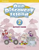 Our Discovery Island Level 2 Activity Book (with CD-ROM)