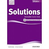 Solutions Second Edition Intermediate Teacher's Book and CD-ROM Pack