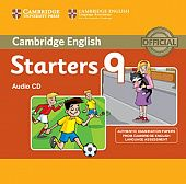 Cambridge Young Learners English Tests Starters 9 Audio CD (Лицензия)