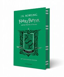 Harry Potter and the Chamber of Secrets (Slytherin Edition Green) - Hardcover