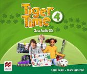 Tiger Time 4 Class Audio CDs