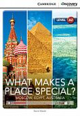 Cambridge Discovery Education Interactive Readers (A2) Low Intermediate What Makes a Place Special? Moscow, Egypt, Australia (Book with Online Access)