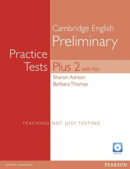 PET Practice Tests Plus 2 Students' Book with Key and Access Code