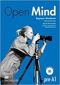 Open Mind Beginner Workbook with Key and CD Pack